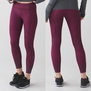 Lululemon Tight Stuff Tight Star Pixel
